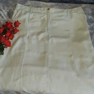 Talbots Skirt Plus Size